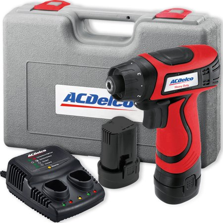 ACDelco ARD847 Li-ion 8-Volt Super Compact Drill Driver, 111 in-lbs, 2 Battery included - Li Ion Drill Driver