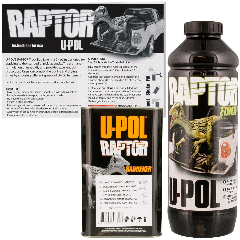U-POL Raptor Tintable Bed Liner & Texture Coating, 1L Upol