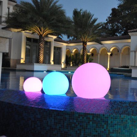 Light Orbs (PublicLight  LED Illuminated All-in-1 Floor, Hanging, and Floating Sphere Lantern Orb Light)
