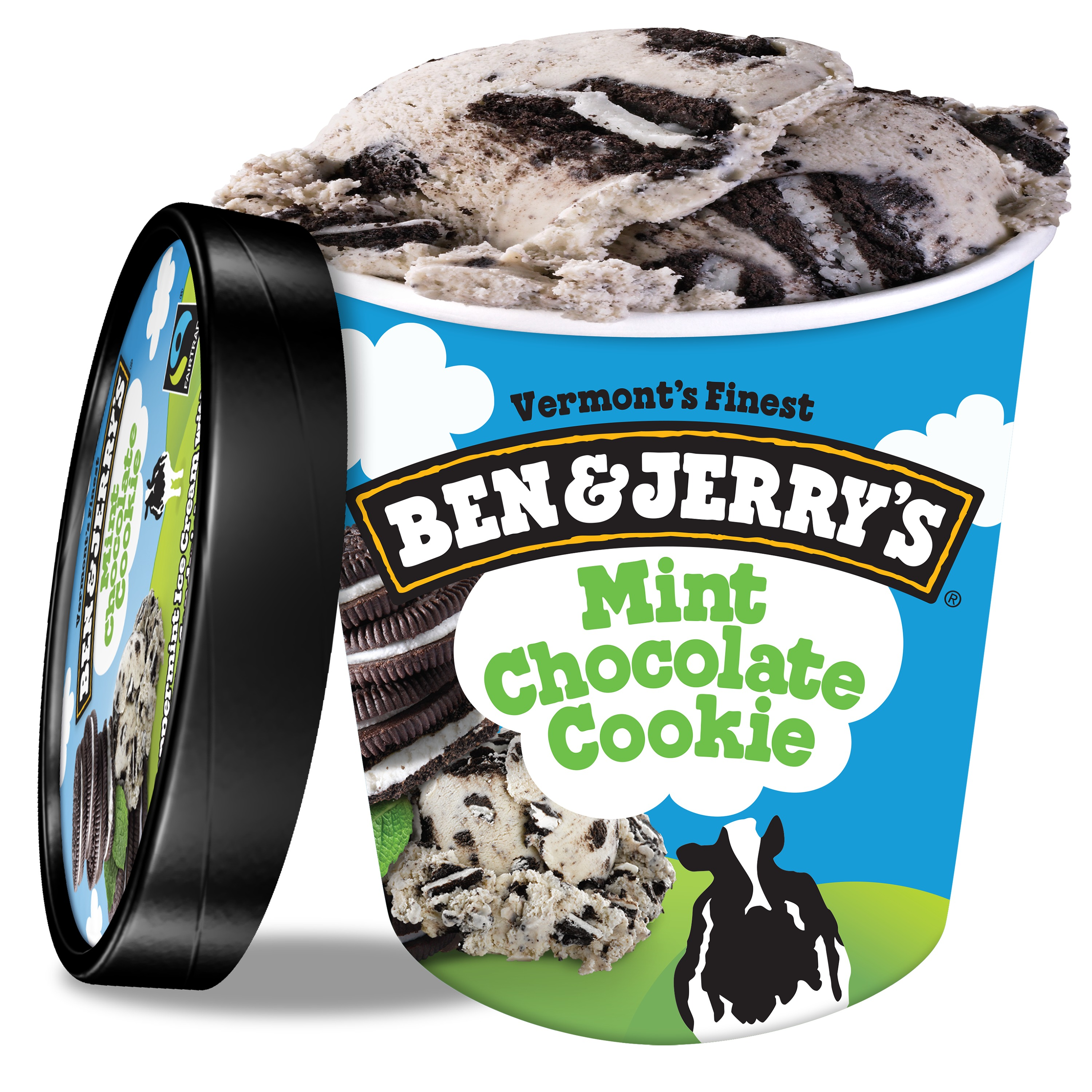 Ben & Jerry's Mint Chocolate Cookie Ice Cream, 16 oz