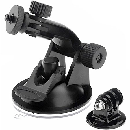 Felji Suction Cup Mount and Tripod Adapter For GoPro HD Hero 1 2
