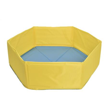 Pet dog Pool Dog Cat Bathing Tub Foldable Sponge Bathtub Cat Dog Pet Bathing Pool - image 3 of 9