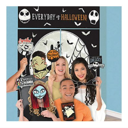Nightmare Before Christmas Scene Setter Halloween Party and 12 Party Props Jack