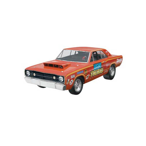 1968 Dodge Hemi Dart Glue And Paint Plastic Model Car Kit  Walmart.com