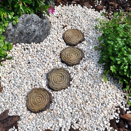 Fairy Garden Stepping Stones Wholesale fairy gardens stepping stones tree stump set of 4 for wholesale fairy gardens stepping stones tree stump set of 4 for miniature garden workwithnaturefo