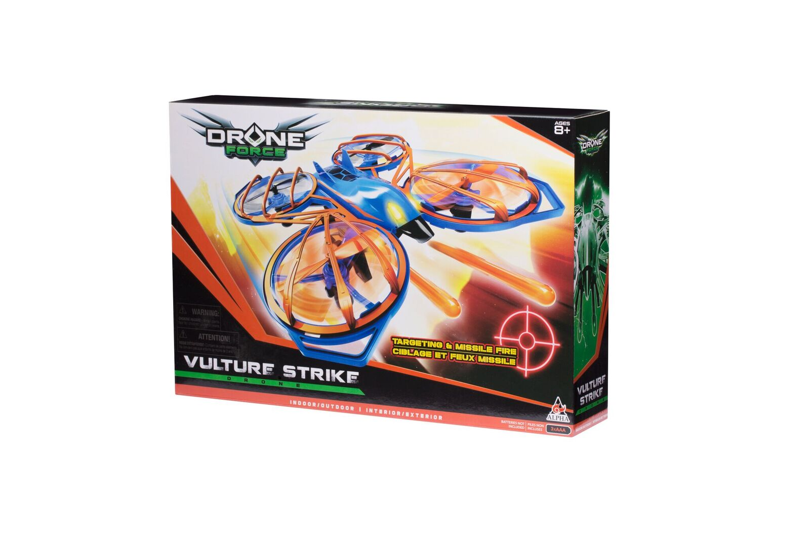 Drone Force Vulture Strike 4 Ch Drone by Auldey Toys