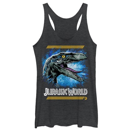 Jurassic World: Fallen Kingdom Women's Jurassic World Fallen Kingdom Raptor Code Racerback Tank Top - Raptor Suit