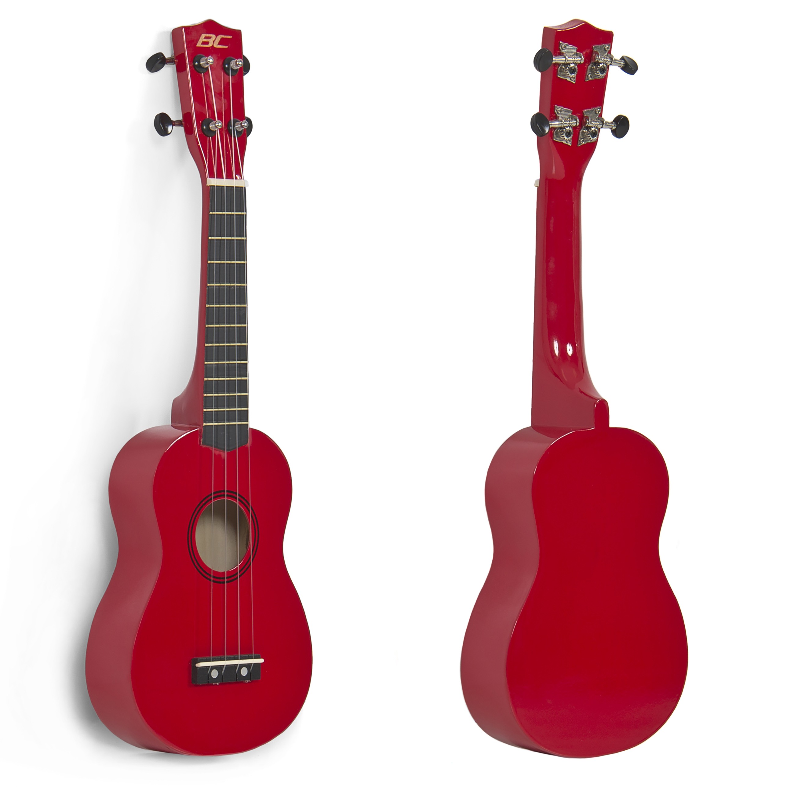 Best Choice Products 21in Soprano Ukulele w/ Rosewood Fingerboard and Bridge - Red