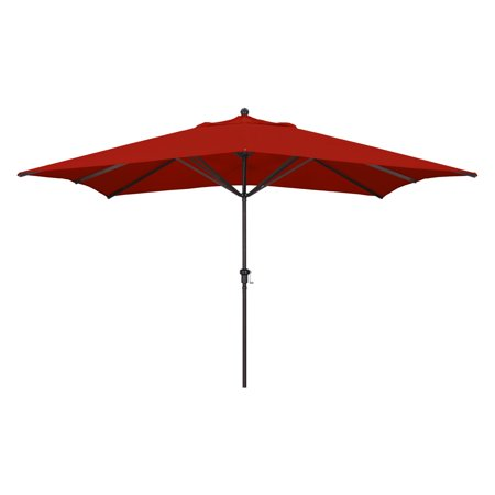 California Umbrella 11 ft. Rectangular Aluminum Market Umbrella ()