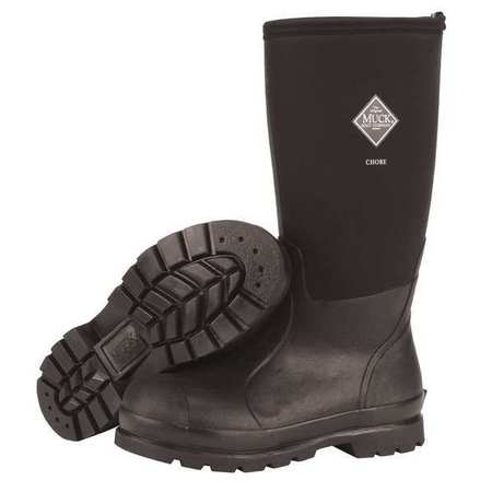 MUCK BOOTS CHH-000A/11 Boots,Rubber,16 In.,Black,11,PR