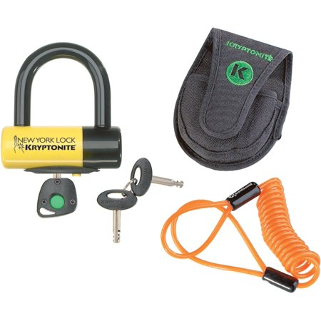 Kryptonite New York Liberty Disc Lock for Motorcycle/Bicycle
