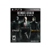 Ultimate Stealth Triple Pack (Hitman Absolution/Deus Ex/Thief), Square Enix, PlayStation 3, 662248916286