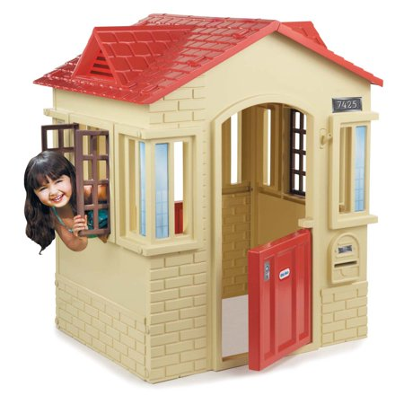 Little Tikes Cape Cottage Playhouse, Tan (Little Tikes Playhouse Pink Door Blue Roof)