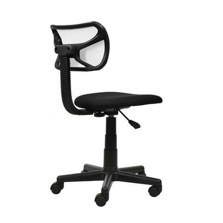 Scranton & Co Mesh Task Office Chair in White - image 2 of 9