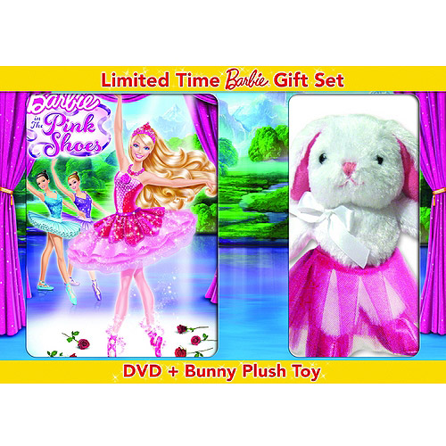 Barbie In The Pink Shoes (DVD + Bunny Plush Toy) (Anamorphic Widescreen)