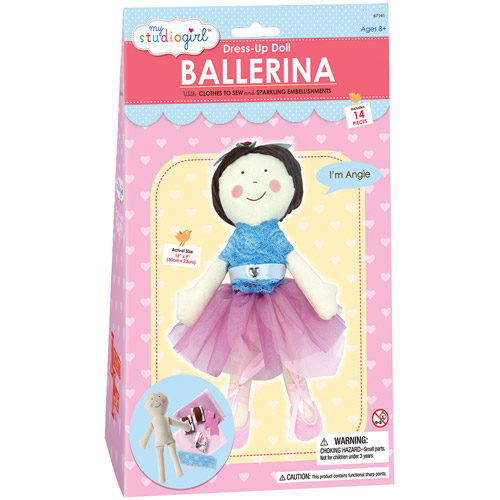 My Studio Girl Dress-Up Doll, Ballerina