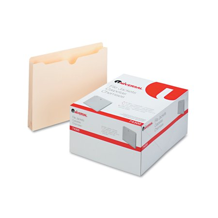 One Inch Expansion Letter - Universal Economical File Jackets, 1 1/2 Inch Expansion, Letter, 11 Point Manila, 50/Box
