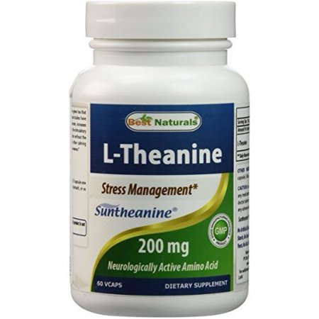 L-Theanine 200 mg 60 Vcaps by Best Naturals featuring clinically proven suntheanine - Essential for Stress management