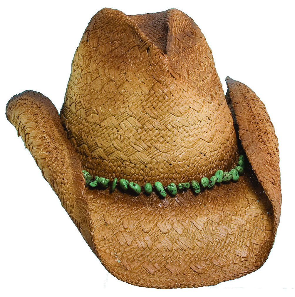 27c5a09867096 Blue Chair Bay - Kenny Chesney Men s Toyo Pinch Front Cowboy Hat TAN ...