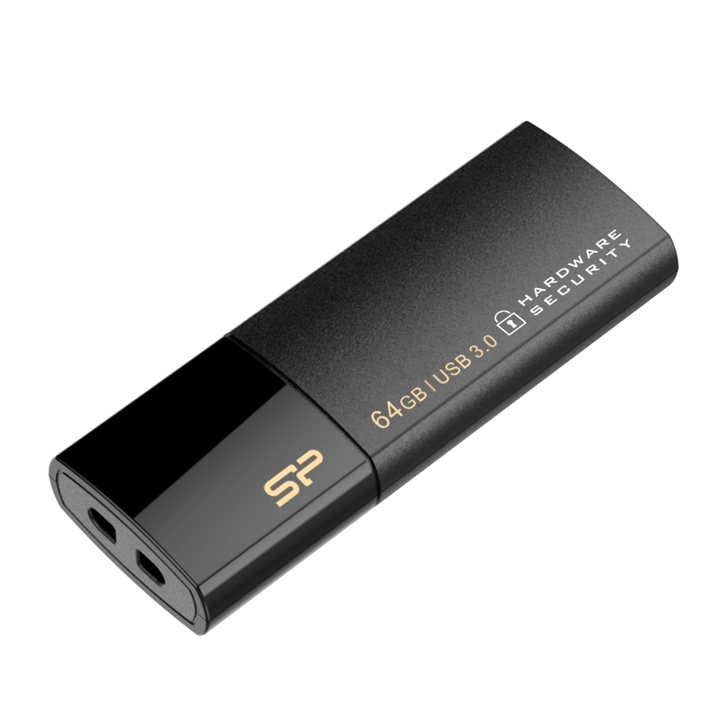 64GB Silicon Power Secure G50 AES 256-bit Encryption USB3.0 Flash Drive