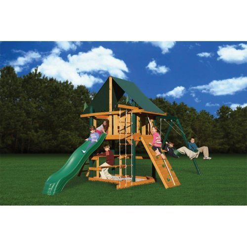 Gorilla Playsets Blue Ridge Overlook Swing Set