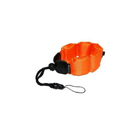 Olympus OM-D E-M5 MARK II Digital Camera Floating Strap Floating Wrist Strap - Orange - Replacement by General Brand ()