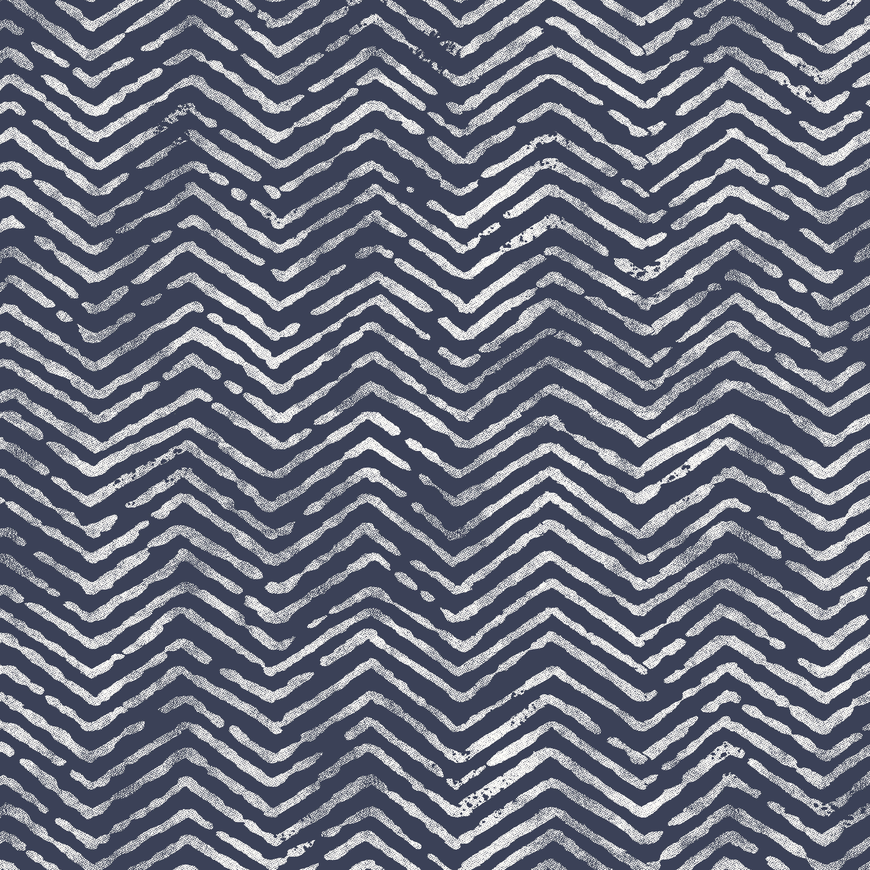 Waverly Inspirations Herringbone Navy 100% Cotton Duck Fabric 45'' Wide, 180 Gsm, Quilt Crafts Cut By The Yard