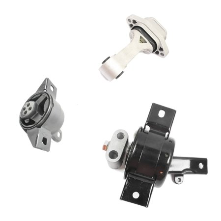 MaxBene Fits: 2004-2008 Chevy Aveo/ Aveo5/ Pontiac Wave 1.6L Engine Motor & Trans. Mount Set 3PCS 3113, 3114, 3115