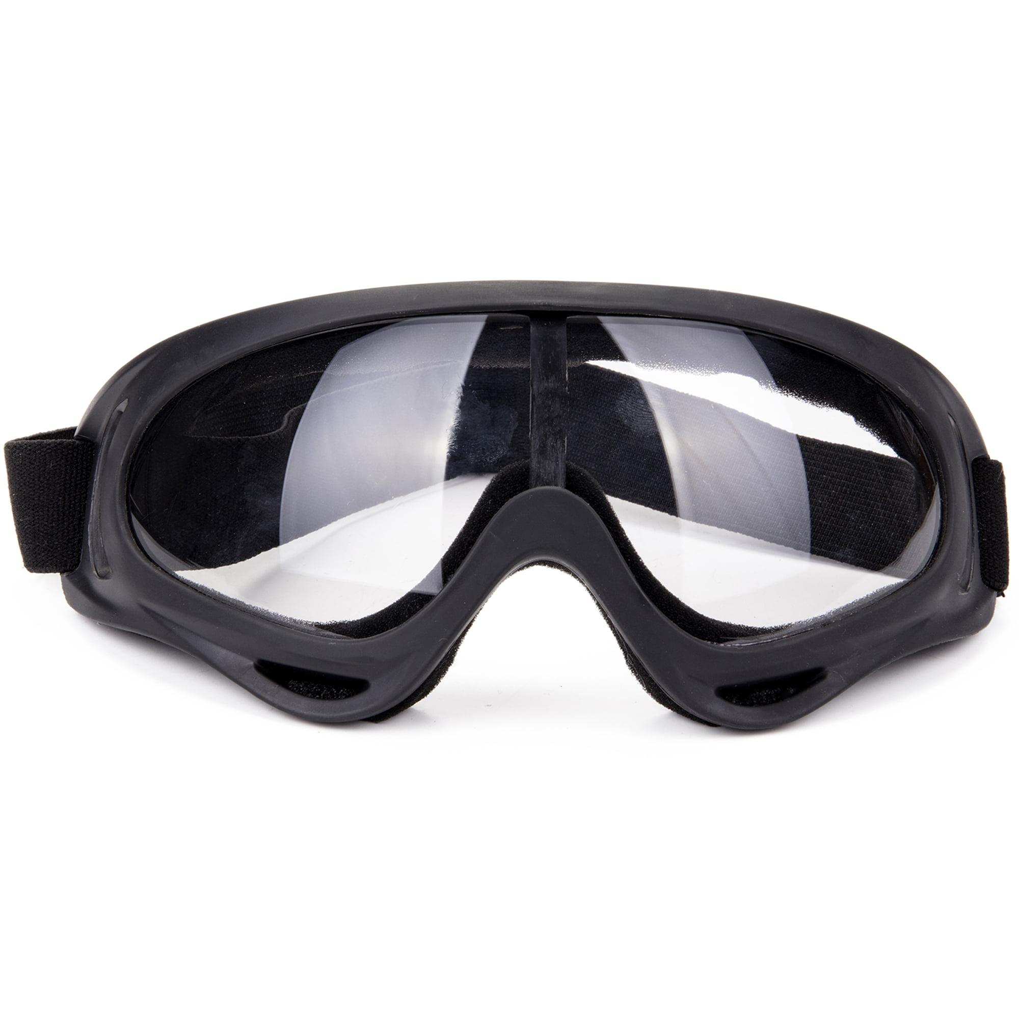 Foldable Windproof Anti-Fog Eye Glasses Snow Goggles Winter Sports Ski Cycling