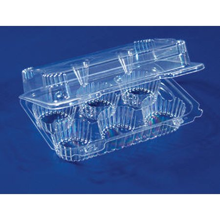 6 Compartment Cupcake Container