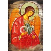 G Debrekht Inspirational Icon Archangel Michael Painting