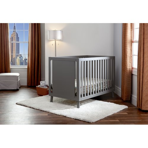 Manhattan 3-in-1 Crib, Dark Chocolate