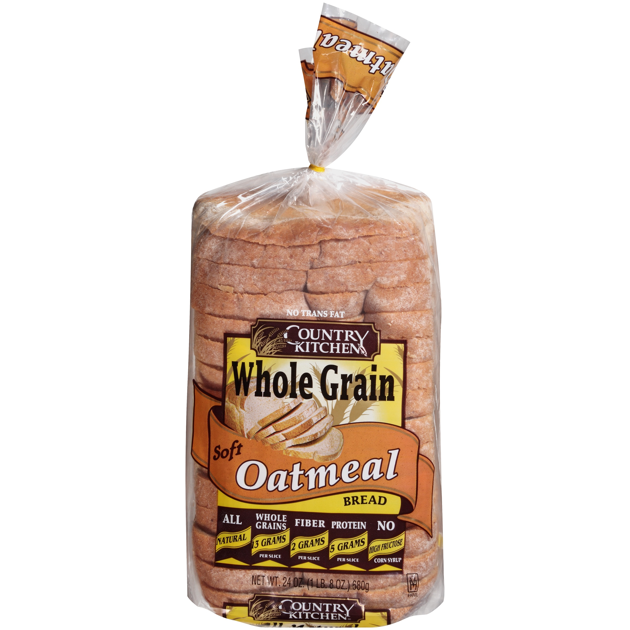Country Kitchen® Whole Grain Soft Oatmeal Bread 24 oz. Loaf