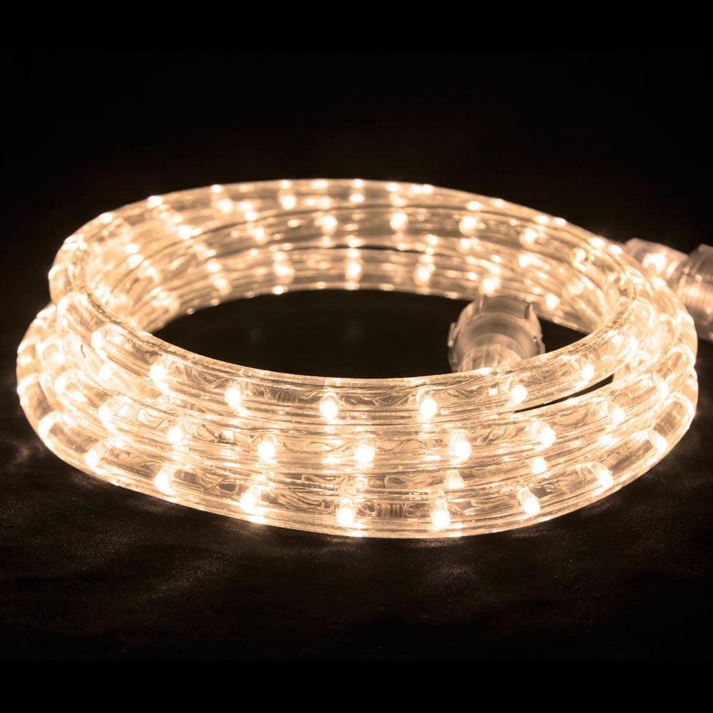 LED Flexbrite Rope Light Set 75 ft - Warm White