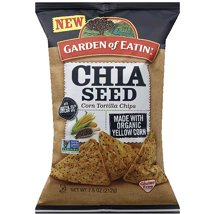 Tortilla & Corn Chips: Garden of Eatin' Chia Seed