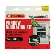 Frost King 5004621 Clear Indoor Window Film Insulator Kit, 54 x 84 in.