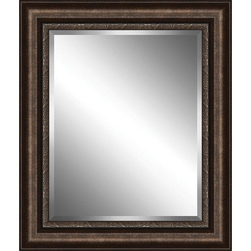 Ashton Wall D cor LLC Traditional Wood Framed Beveled Plate Glass Mirror