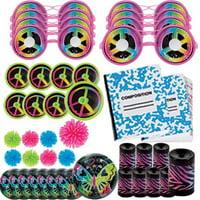 Neon Doodle Favor Pack (48pc)