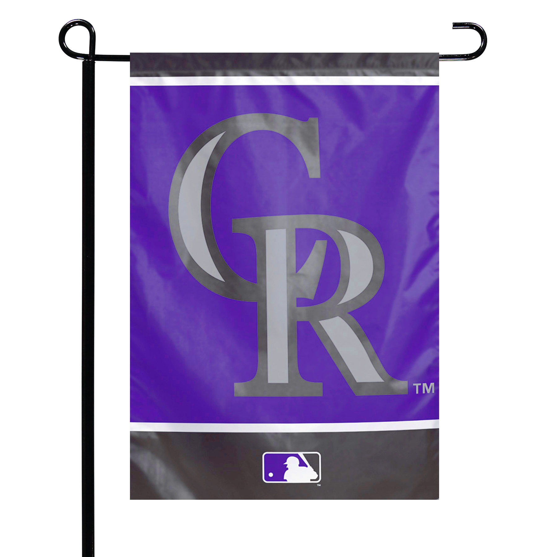 "Colorado Rockies WinCraft 12"" x 18"" Double-Sided Garden Flag - No Size"