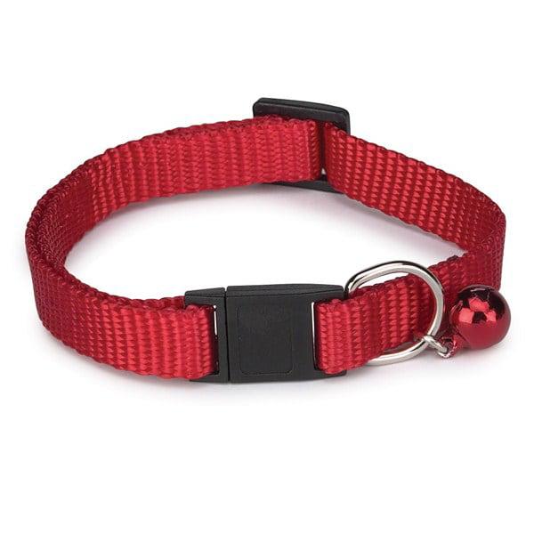 Guardian Gear Nylon Cat Collar 8-12in Red