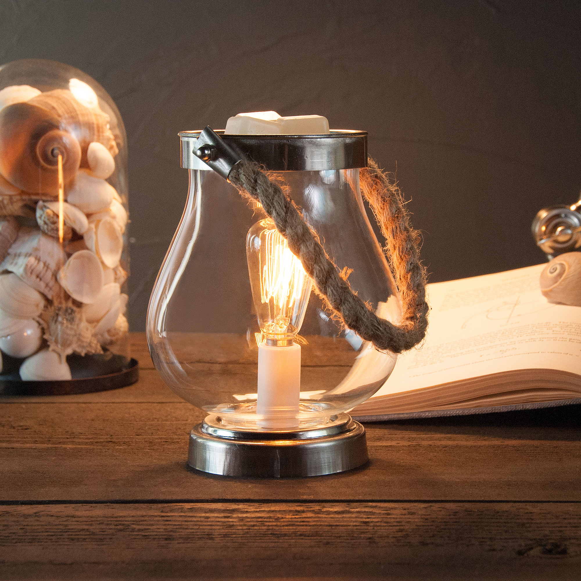 ScentSationals Edison Hurricane Lantern