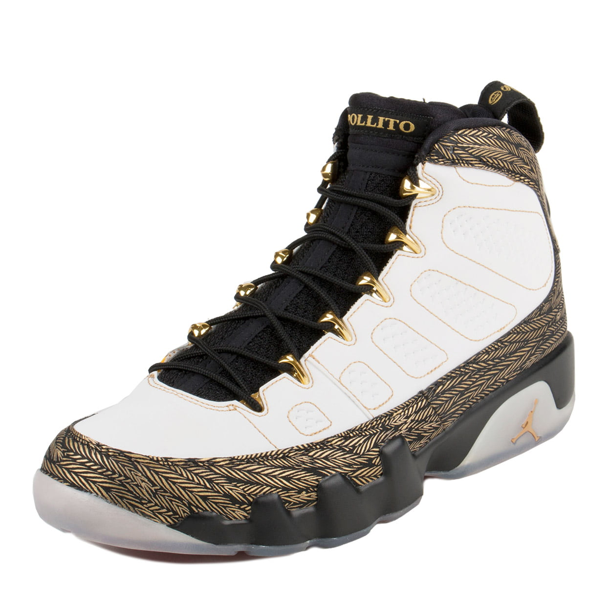 4ffee597495 ... greece nike nike mens air jordan 9 retro db doernbacher white gold black  580892 170 walmart