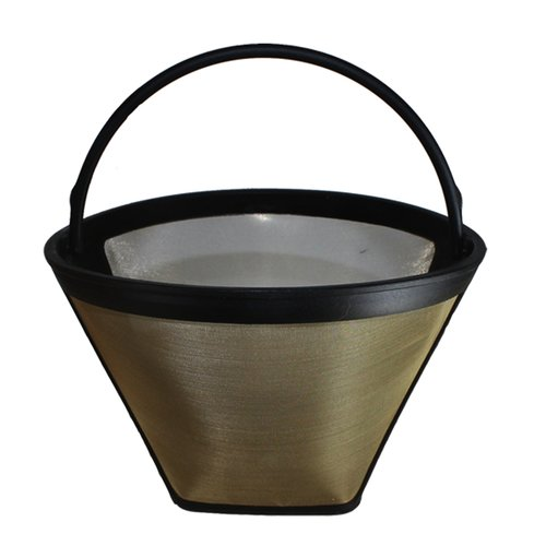 Crucial Gold Tone Washable Coffee Filter