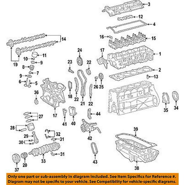 Dodge CHRYSLER OEM 03-06 Sprinter 2500-Engine Harmonic Balancer 5103972AB -  Walmart.com - Walmart.comWalmart