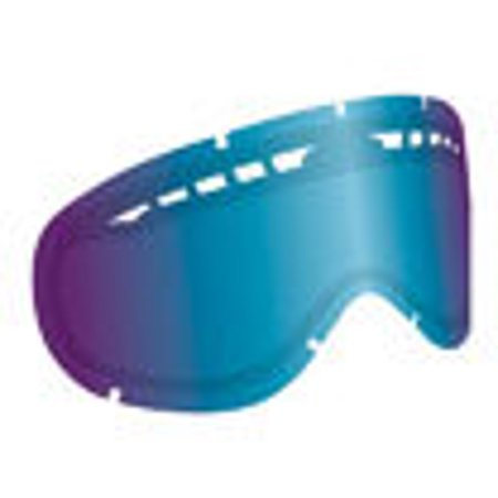 Ionized Goggles - Dragon Alliance Ionized All Weather Lens for MDX Goggles, Blue Blue Ion Dual Lens - No Post