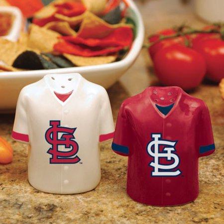 St Louis Cardinals Gameday Ceramic Salt & Pepper Shakers - No (Louis Cardinals Ceramic)
