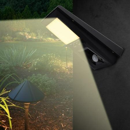 LYUMO Outdoor LED Solar Wall Light Waterproof Garden Yard Pathway Motion Sensor Lights Security Lamp