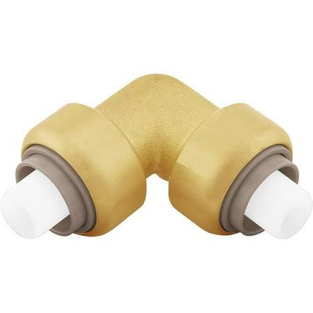 Jones Stephens C77426LF 0.75 in. Bagged PlumBite Push on 90 deg Elbow, Lead Free - image 1 de 1