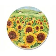 Counter Art CART87859 Sunflower Field Coasters Set of 4
