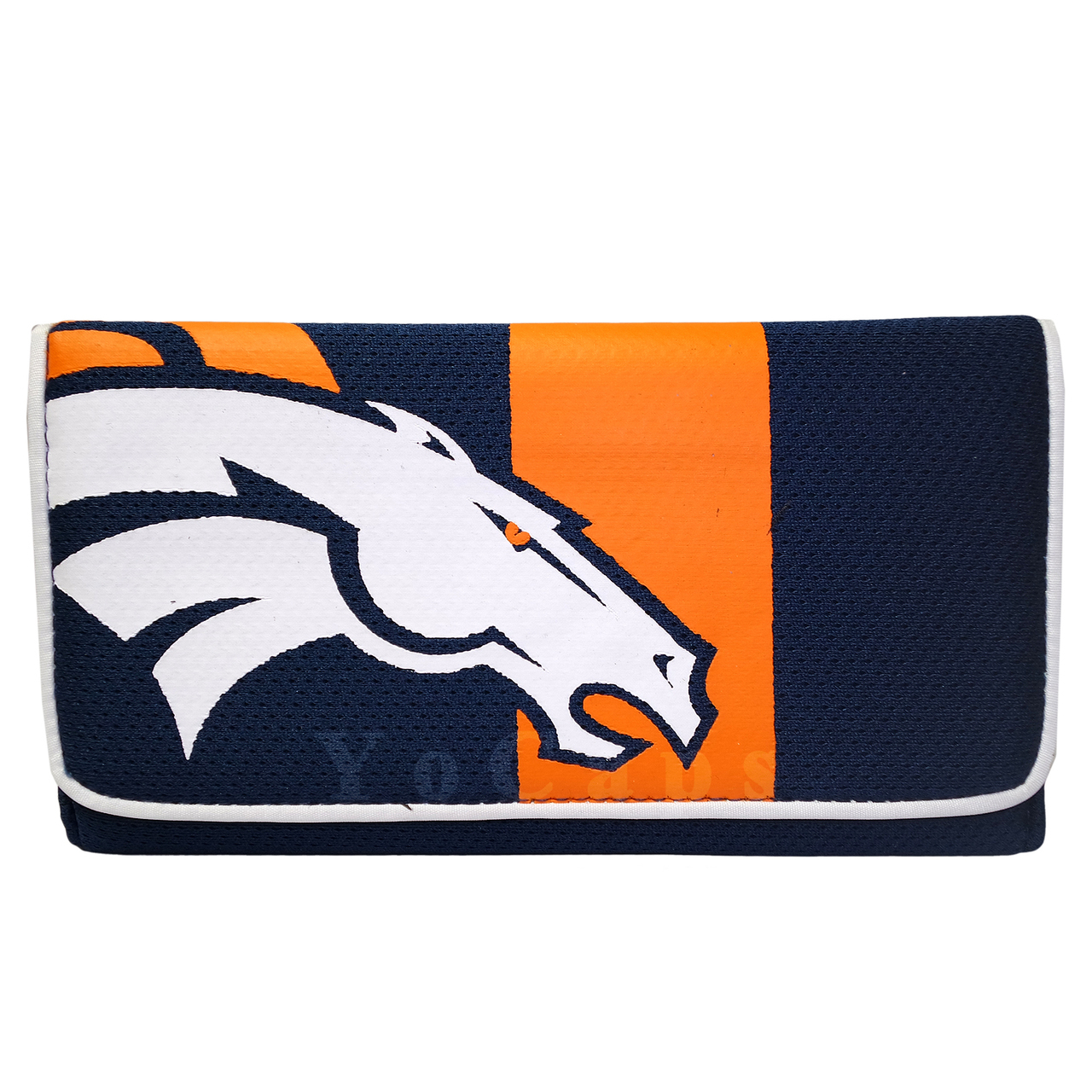 Denver Broncos Wallet Mesh Organizer Women's Clutch Wallet